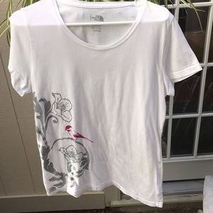 The North Face women's Tee size Large, floral